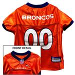 View Image 1 of Denver Broncos Officially Licensed Dog Jersey - Orange
