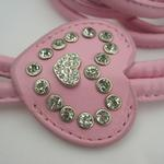 View Image 2 of Designer Charm Step-In Harness by Hip Doggie - Pink