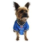 View Image 2 of Detroit Lions Officially Licensed Dog Jersey - Black and White Trim