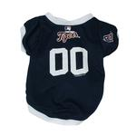 View Image 1 of Detroit Tigers Baseball Dog Jersey