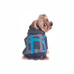 View Image 1 of Dexter Dog Hoodie - Gray & Blue