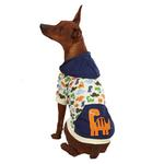 View Image 1 of Dino Dog Pullover - White