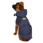 Dino Dog Stowaway Jacket - Navy