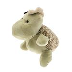 View Image 2 of Dino-Rageous Plush Dog Toy - Green Gino