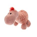 View Image 2 of Dino-Rageous Plush Dog Toy - Pink Tino