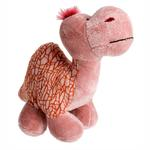 View Image 1 of Dino-Rageous Plush Dog Toy - Pink Tino