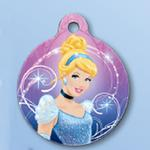 View Image 1 of Disney Cinderella QR Code Pet ID Tag