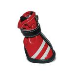 View Image 2 of Dog Booties by Dogo - Red
