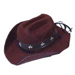 View Image 1 of Dog Cowboy Hat - Brown