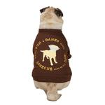 Dog is Good Cone Dog T-Shirt - Brown