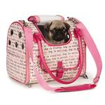 View Image 1 of Dog Is Good Dogism Dog Carrier - Pink