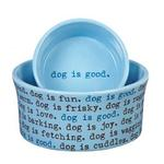 Dog is Good Dogism Dog Dish - Angel Falls