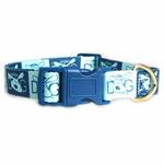 View Image 2 of Dog is Good Halo Dog Collar - Blue