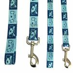 View Image 2 of Dog Is Good Halo Dog Leash - Blue