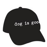 View Image 1 of Dog is Good Human Cap - Black