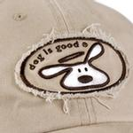 View Image 2 of Dog is Good Human Cap - Khaki