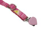 View Image 3 of Dog Suspenders - Pink Hawaiian