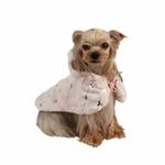 View Image 1 of Doris Hooded Dog Cape by Puppia - Pink