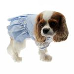 View Image 2 of Dorothy Dog Costume Dress - Blue