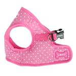 View Image 2 of Dotty Dog Harness Vest by Puppia - Pink