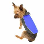 View Image 2 of Double Diamond Dog Coat - Royal Blue