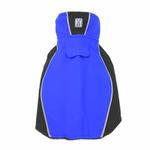 View Image 1 of Double Diamond Dog Coat - Royal Blue