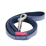 View Image 1 of Downy Dog Leash by Pinkaholic - Navy