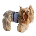 View Image 1 of Downy Pinka Dog Harness by Pinkaholic - Navy