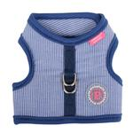 View Image 2 of Downy Pinka Dog Harness by Pinkaholic - Navy