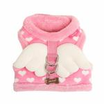 View Image 3 of Dreamy Pinka Dog Harness by Pinkaholic - Pink