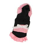 View Image 1 of Earmuff Hoodie Dress by Hip Doggie