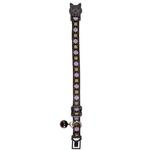 View Image 1 of East Side Collection Academy Argyle Cat Collar - Chocolate
