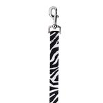 East Side Collection Animal Print Leash - Zebra