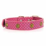 View Image 3 of Canine Charmers Dog Collar - Rose