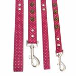 View Image 2 of Canine Charmers Dog Leash - Rose