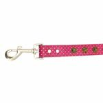 View Image 4 of Canine Charmers Dog Leash - Rose