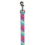 View Image 1 of East Side Collection Confetti Print Dog Leash - Raspberry