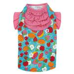 View Image 3 of Fruit Frenzy Ruffle Dog T-Shirt