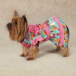 View Image 2 of Fruit Frenzy Ruffle Dog T-Shirt
