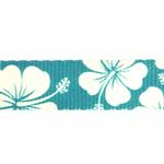 View Image 4 of Hibiscus Dog Leash - Blue