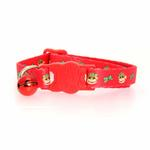 View Image 2 of Holiday Monkey Business Cat Collar - Tiff