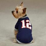View Image 1 of Leader Of The Pack Dog Football Jersey - Navy
