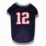 View Image 2 of Leader Of The Pack Dog Football Jersey - Navy