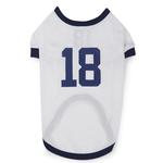 View Image 3 of Leader Of The Pack Dog Football Jersey - White