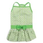 View Image 3 of East Side Collection Miss Daisy Dog Dress - Green