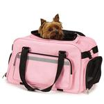 View Image 1 of On-The-Go Carry On Pet Carrier - Pink