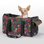 View Image 1 of East Side Collection Peace Out Pet Carrier
