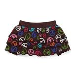 View Image 2 of East Side Collection Peace Out Ruffle Dog Skirt