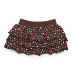 View Image 1 of East Side Collection Polka Dot Ruffle Dog Skirt