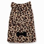 East Side Collection Posh Fleece Dog Jacket - Leopard